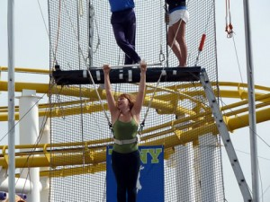 More Trapeze swings