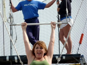 Flying on the Trapeze
