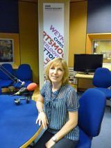 Image of Lucy at BBC Radio Solent July 2011