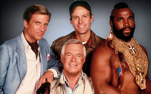 Image of the A-Team cast
