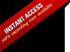 Instant Access header slash