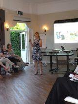 Lucy speaking at Dorset Winning Women