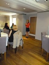 Lucy speaking at Lightworkers Lunch 02-May-2012