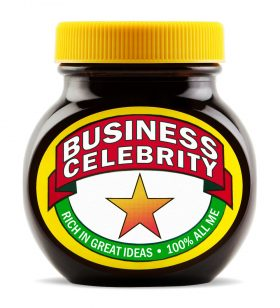 A jar of Business Celebrity Marmite