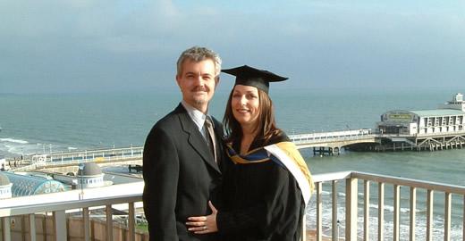 Lucy MBA graduation