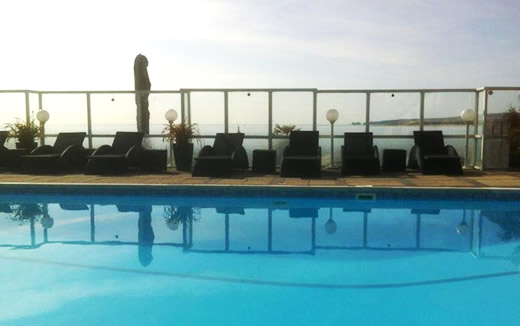 Swimming pool at The Haven Hotel