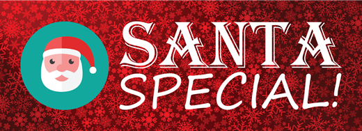 Santa Special sign