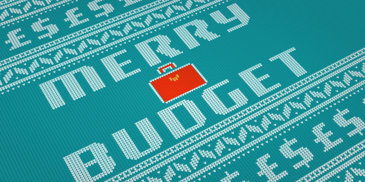 Christmas-jumper-style Merry Budget
